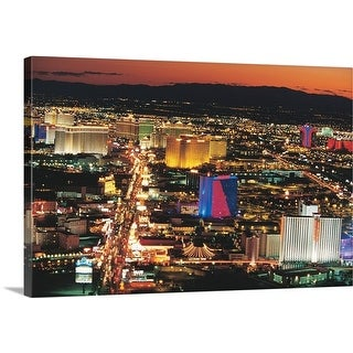 Premium Thick-Wrap Canvas entitled Las Vegas, Nevada