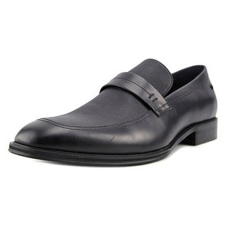 Kenneth Cole NY Got A Clue Men  Round Toe Leather Black Loafer