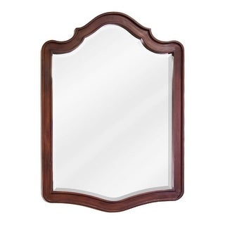 Jeffrey Alexander MIR081 Philadelphia Refined Collection Arched 26 x 26 Inch Bathroom Vanity Mirror - Chocolate - N/A