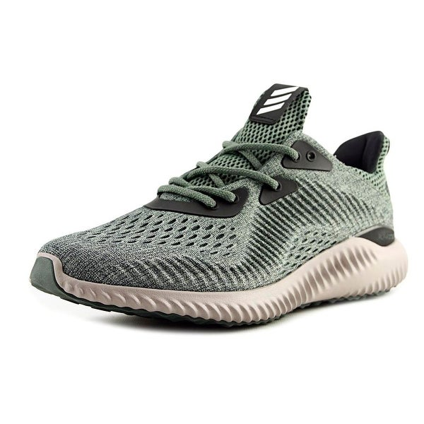 f4c93a586 Adidas Alphabounce Engineered Mesh Men Utility Ivy Trace Green Vapour Grey Sneakers  Shoes