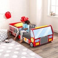 KidKraft: Firetruck Toddler Bed