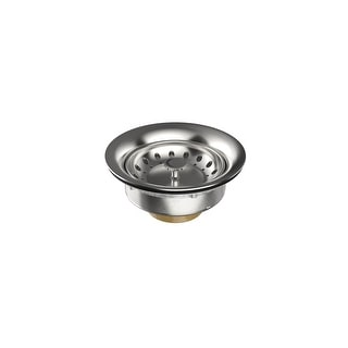 """Link to Swiss Madison SM-KD765 4-1/2"""" Basket Strainer - Polished Stainless Steel Similar Items in Kitchen"""