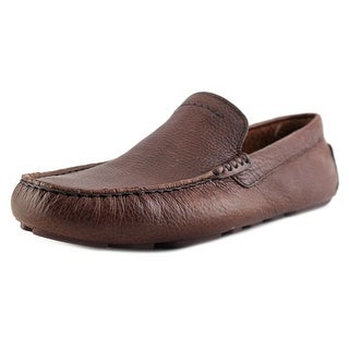 UGG Collection Henrick Round Toe Leather Loafer