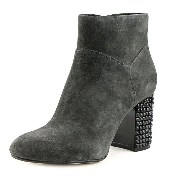 MICHAEL Michael Kors Womens Arabella Leather Closed Toe Ankle Fashion Boots