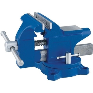 Irwin 4935507 Light Duty Workshop Vise, Blue