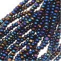 Czech Charlotte Seed Beads 13/0 Blue Iris 1/2 Hank - Thumbnail 0