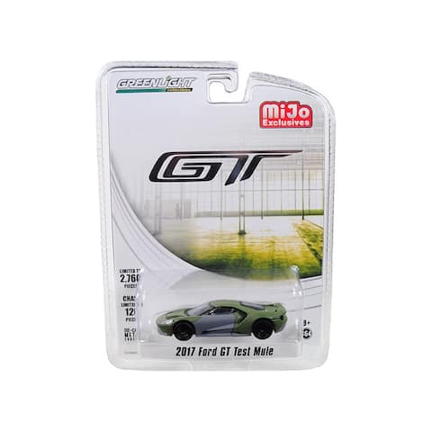 2017 Ford GT Test Mule Limited Edition to 2760 pieces Worldwide 1/64 Diecast Model Car by Greenlight