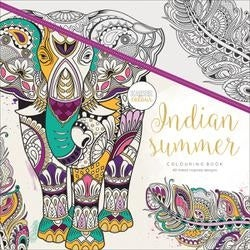 "Indian Summer - KaiserColour Perfect Bound Coloring Book 9.75""X9.75"""