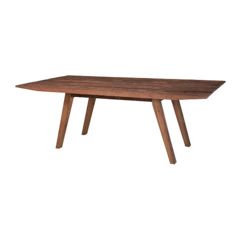 "GuildMaster 614008-B 87"" Wide Wood Dining Table - Natural"