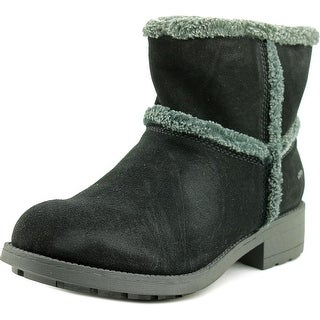 Rocket Dog Thurston Women Round Toe Suede Black Winter Boot