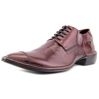 Costume National 1015113 Apron Toe Leather Oxford
