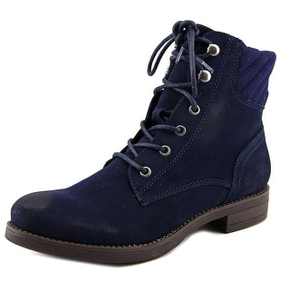 American Rag Aswidler Women Round Toe Synthetic Blue Boot