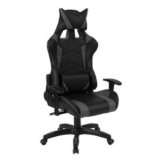Offex Cumberland Comfort Series High Back Executive Reclining Racing Gaming Swivel Chair with Adjustable Lumbar Support