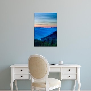 Easy Art Prints Jaynes Gallery's 'Sunrise View' Premium Canvas Art