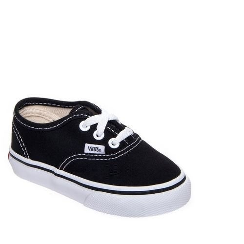 Shop VANS Toddlers Authentic Black VN000ED9BLK Toddler 5.5 - Free Shipping  On Orders Over  45 - Overstock - 20553819 cdf85cf7c
