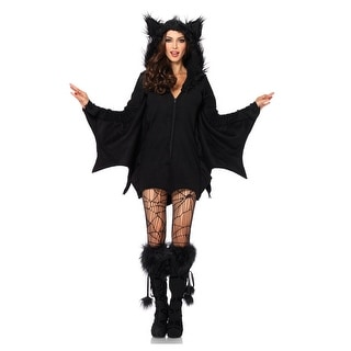 Plus Size Cozy Bat Adult Costume (Option: 5x)