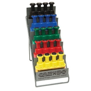 Link to Digi-Flex LITE® - Set of 5 (1 each: yellow, red, green, blue, black) with Metal Stand Similar Items in Fitness & Exercise Equipment