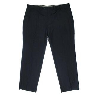Lauren Ralph Lauren Mens Wool Flat Front Dress Pants - 32/32