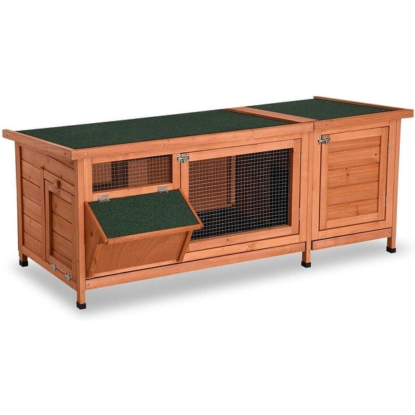 Lovupet Wooden Outdoor Indoor Guinea Pig Cage Coop Pet House for Small Animals 1550D. Opens flyout.