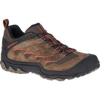 Merrell Men's Chameleon 7 Limit Waterproof Hiking Shoe Merrell Stone Suede/Mesh