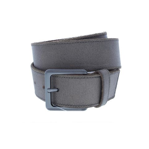 Calvin Klein Mens Casual Belt Leather Distressed
