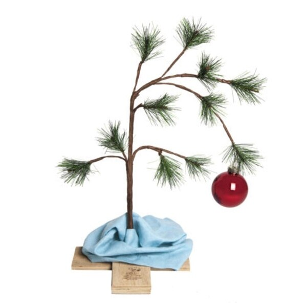 "24"" The Original Charlie Brown Artificial Christmas Tree Decoration ? Unit"