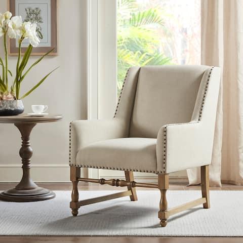 Belden Cream Accent Chair by Martha Stewart