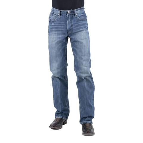 Stetson Western Jean Mens Relaxed Med Wash