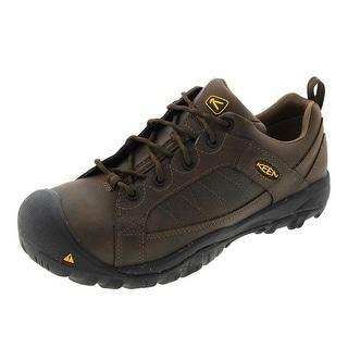 Keen Mens Mesa ESD Steel Toe Shoes Leather Slip Resistant - 11.5 medium (d)