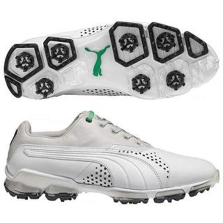 Puma Men's Titan Tour White/Grey/ Violet Golf Shoes188056-04