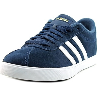 Adidas Courtset    Round Toe Suede  Sneakers