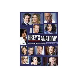 GREYS ANATOMY-6TH SEASON (DVD/6 DISC/WS/SP-FR-SUB)