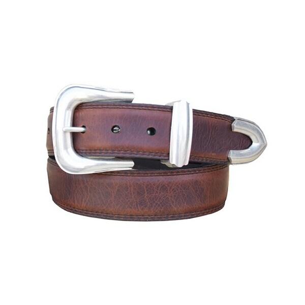 Vintage Bison Western Belt Mens Blackwater II Leather Saddle