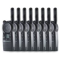 Motorola CLS1410 2-Way Radio / 5 Mile Range (8-Pack)