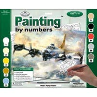 """Flying Fortress - Paint By Number Kit 15.375""""X11.25"""""""