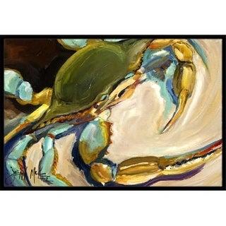 Carolines Treasures JMK1098JMAT Blue Crab Indoor & Outdoor Mat 24 x 36 in.