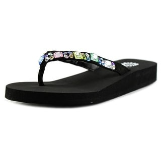 Yellow Box Sabbi II Youth Open Toe Synthetic Multi Color Thong Sandal