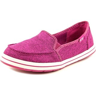 Bobs by Skechers Flexy-Back Spring Women Round Toe Canvas Flats