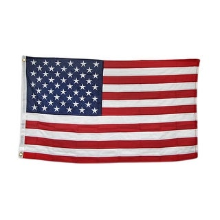 Heavy Duty Nylon American Flag 3 Foot X 5 Foot With Brass Grommets