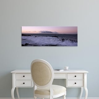 Easy Art Prints Panoramic Images's 'Table Mountain, Cape Town, Western Cape Province, South Africa' Canvas Art