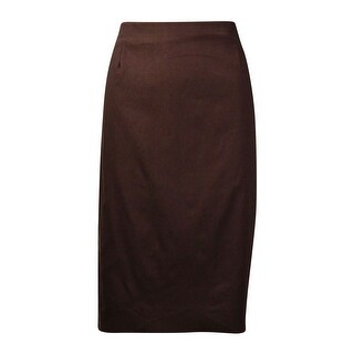 Brown Mid-length Skirts - Shop The Best Brands Today - Overstock.com