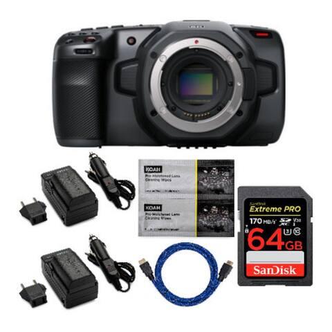 Blackmagic Design Pocket Cinema Camera 6K with Accessory Bundle