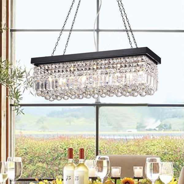 Carina 5-Light Crystal Chandelier. Opens flyout.