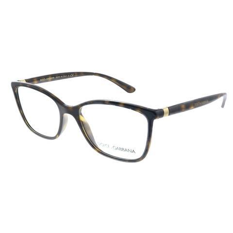Dolce & Gabbana DG 5026 502 52mm Womens Havana Frame Eyeglasses 52mm
