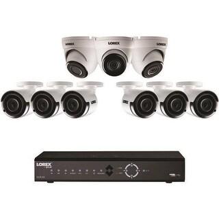 Lorex LNK7163C6D34B 16 Channel 4K 3TB NVR with 9 2K PoE Camera
