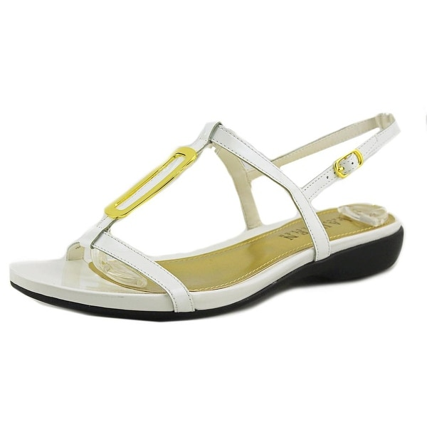 Lauren Ralph Lauren Kat Open-Toe Patent Leather Slingback Sandal