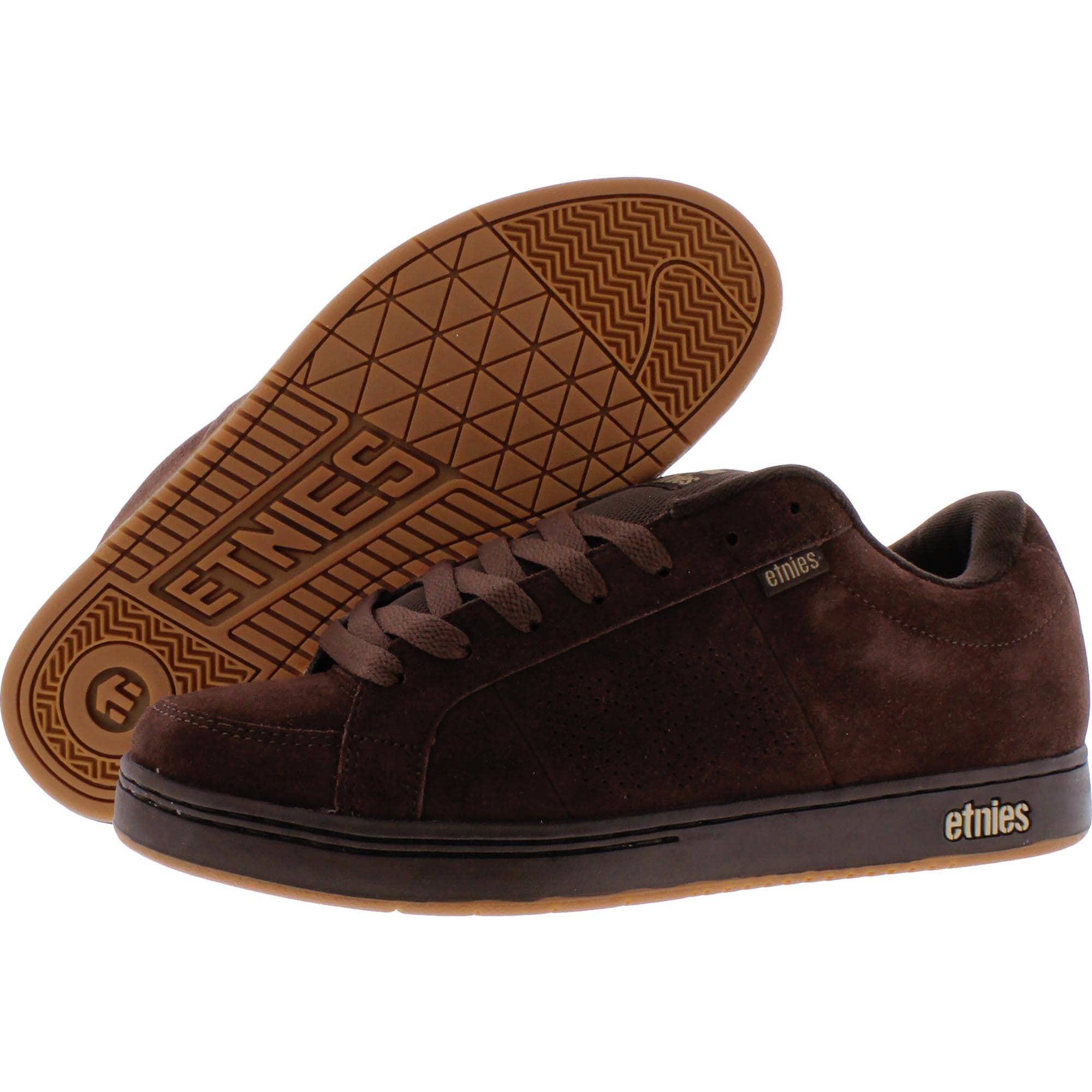 Etnies Men/'s Kingpin Suede Mid-Top Trainer Skate Shoe Sneakers