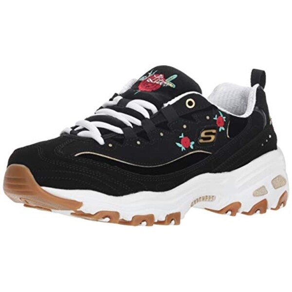 Skechers Women's D'lites Rose Blooms Sneaker