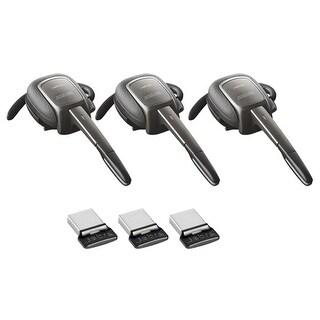 Jabra Supreme UC Mono Bluetooth Headset w/ Noise-Canceling & Noise Blackout (3 Pack)