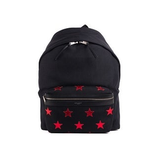 Saint Laurent Black Red Star City California Full Backpack